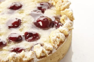 Baked Christmas Cheesecake (Using Bakels Gourmet Cheesecake Mix)