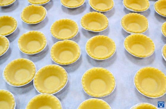 Pie Shells | vegetable shortening | vegan cake | icing sugar mixture | cake mix | vegan cake mix