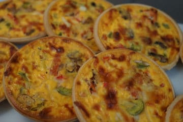 Quiche Shortpaste (Using Pie Base Concentrate)