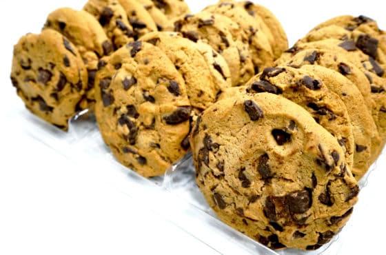 Gourmet Choc Chip Cookie | icing sugar mixture | gluten free cake mix | active dry yeast | whip and ice | chocolate mud cake mix
