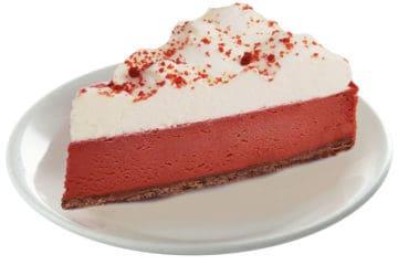 Red Velvet Cheesecake Slice