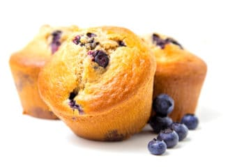 Blueberry Cake Muffins (Using Bakels All-In Muffin Mix)