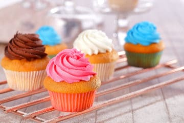 Cup Cakes (Using Bakels Creme Cake Muffin Mix)