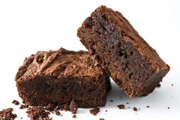 Jaffa Brownie Slice