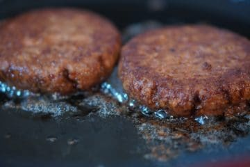 Plant-Based Burger Patty (Using Bakels Plant-Based Savoury Mix)